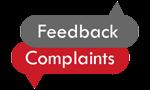 Feedback and complaints logo